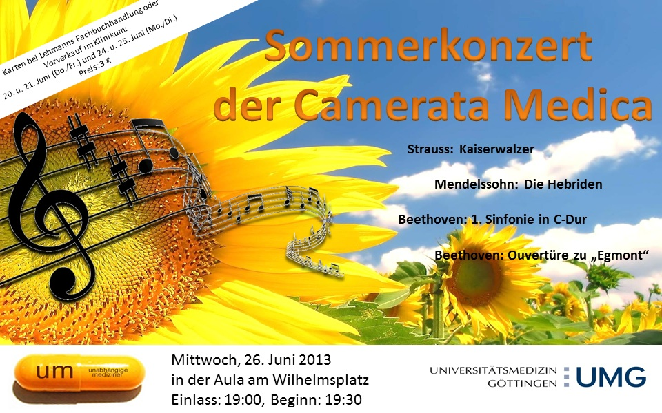Sommerkonzert SoSe 2013